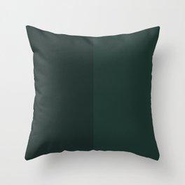 Green Rectangle V1 Throw Pillow