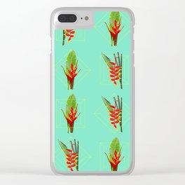 plantooniuns Clear iPhone Case