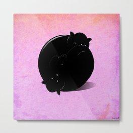 Ball of cats Metal Print