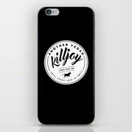 Vegan Killjoy iPhone Skin