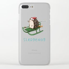 Sledgehog Clear iPhone Case
