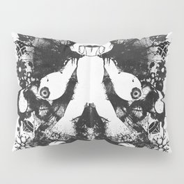 Megaman Geek Ink Blot Test Pillow Sham