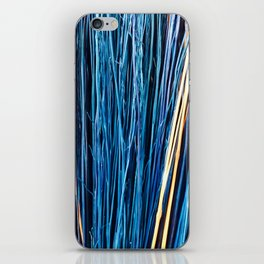 Blue Brushwood Photography iPhone Skin