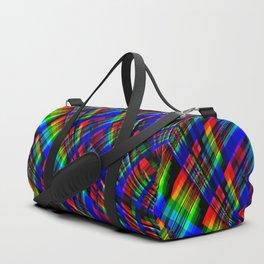 RGB Plaid Duffle Bag