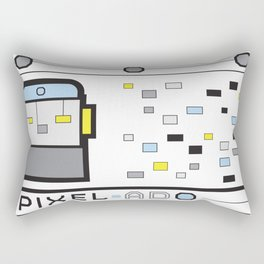 Pixel-Ado Rectangular Pillow