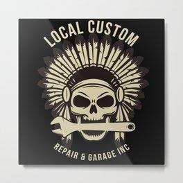 Local Customs Repairs Metal Print