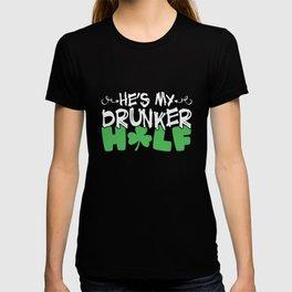 St Patrick He's my Druker Half T-shirt
