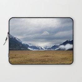 The Home of the Long White Cloud on the Road to Milford Sound Laptop Sleeve