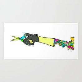Robo Art Print
