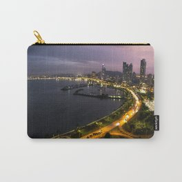Panama City at Dusk Carry-All Pouch