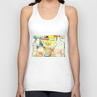kitchen Tank Tops featuring kitchen by Matteo Lotti