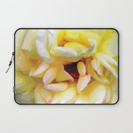 Close up of a Rose Laptop Sleeve