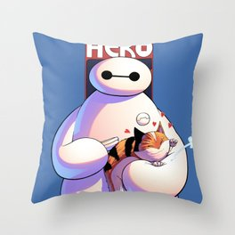 Baymax - Big Hero 6 Throw Pillow