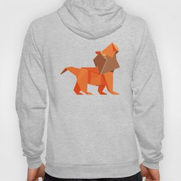 Origami Lion Hoody