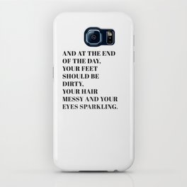 and at the end iPhone Case