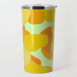 Warm and Cool Tone Terrazzo Travel Mug