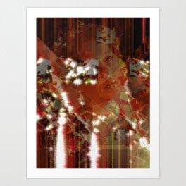 Red Rising. Art Print