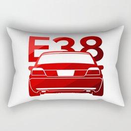 BMW E38 - classic red - Rectangular Pillow