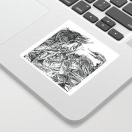 Inktober 2018: Breakable Sticker