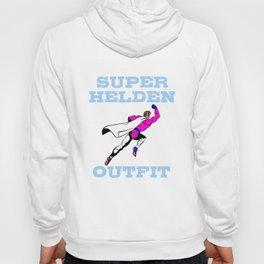 Lustige Verkleidung für Fasching - tolles Superheld Outfit Hoody