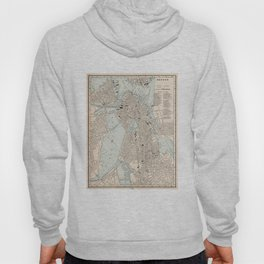 Vintage Map of Boston MA (1893) Hoody