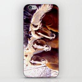 Three Beauties iPhone Skin