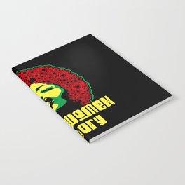 Black women history month  pride black power culture 1  Notebook