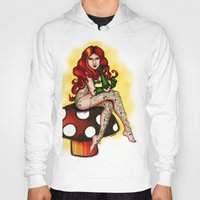 poison ivy Hoodies featuring poison ivy by Aamaal