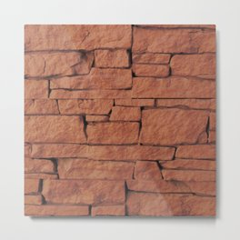 """""""Another brick in the wall"""" 2 Metal Print"""