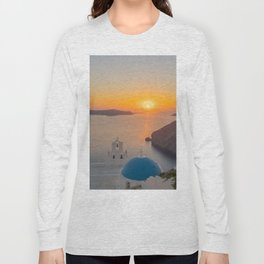 Three Bells Santorini Long Sleeve T-shirt
