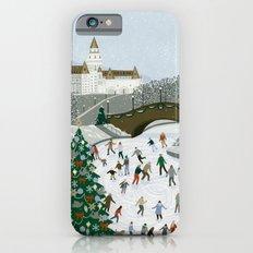 Ice skating pond Slim Case iPhone 6s