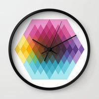 fig Wall Clocks featuring Fig. 022 by Maps of Imaginary Places