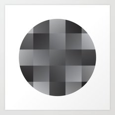 Abstract Squares Art Print