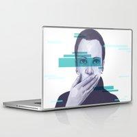 data Laptop & iPad Skins featuring Data Stream by Haily Gwynn Shaw