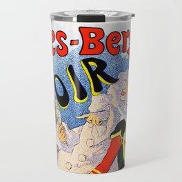 Jules Cheret Folies-Bergere Le Miroir 1896 Travel Mug