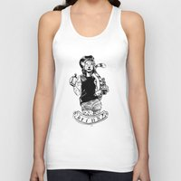 drink Tank Tops featuring Drink? by Paolo Gallina