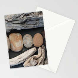 Driftwood And Stones  Stationery Cards