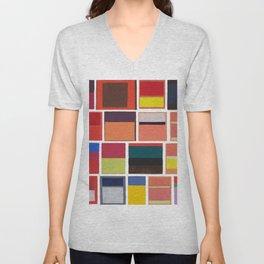 Mark Rothko Collage Unisex V-Neck