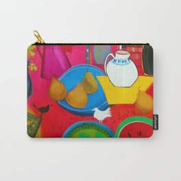Blue Plate  Carry-All Pouch