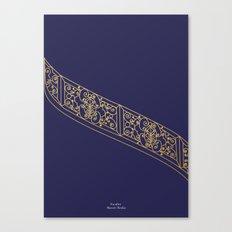 Escalier Mussee Rodin Canvas Print