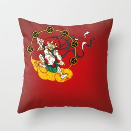 Raijin Throw Pillow