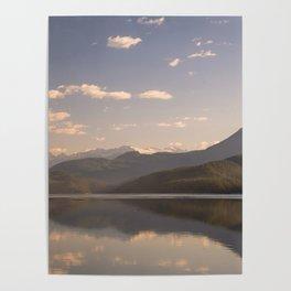 Duncan lake Sunrise One Poster