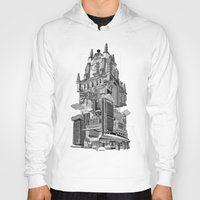 madrid Hoodies featuring MADRID 360º by DOURONE