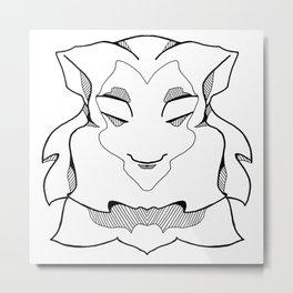 Wise Monkey Metal Print