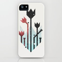 Space Tulips iPhone Case