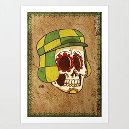 Chavo Calavera Art Print