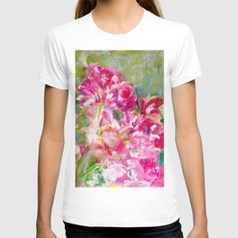 My Magical Pink Floral Romance T-shirt