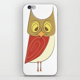 Cranky Owl iPhone Skin