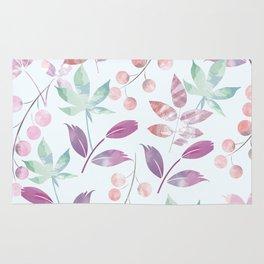 Flower Pattern Rug