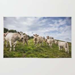 Staring Cows Rug